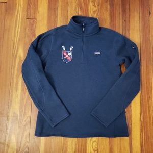 Patagonia Blue Better Sweater Womens 1/4 Zip Pullo